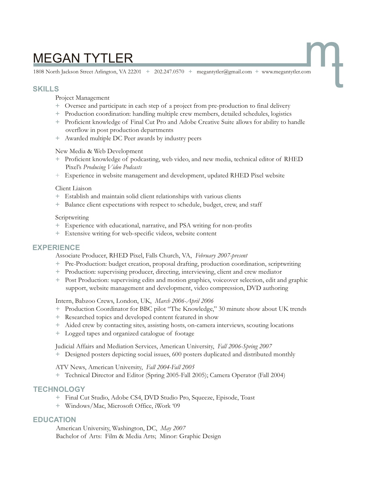 resume content example - Etame.mibawa.co